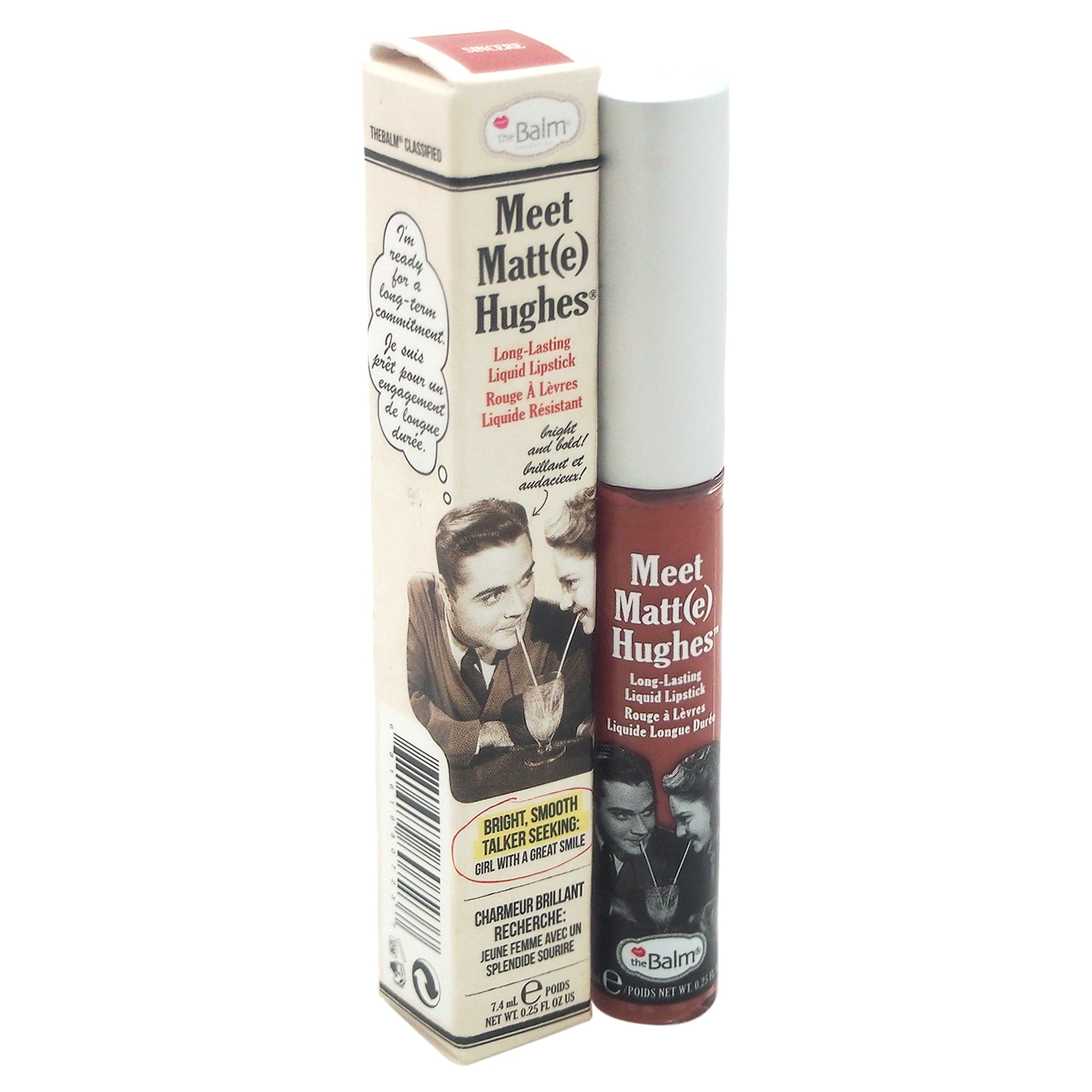 the Balm Meet Matte Hughes Long Lasting Liquid Lipstick
