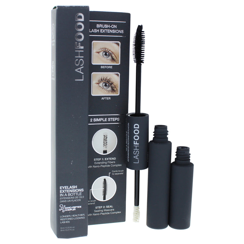 LashFood Eyelash Extensions In A Bottle Duo