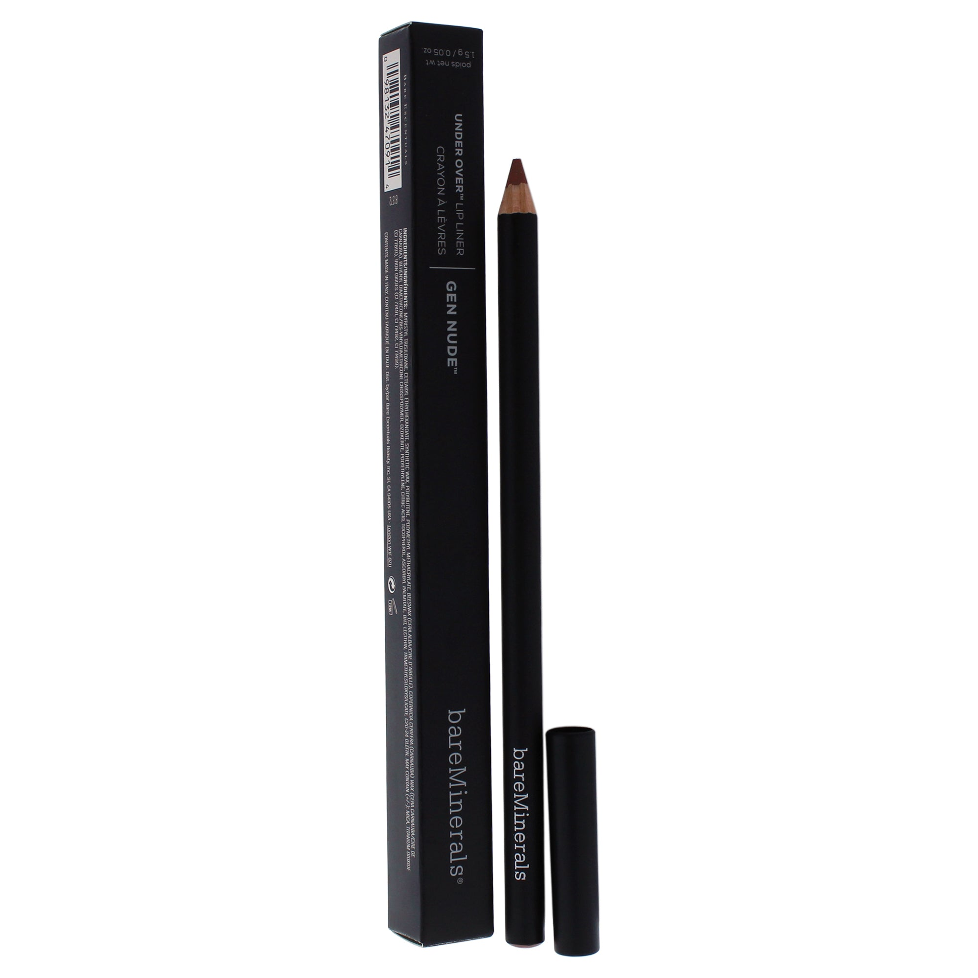 bareMinerals Gen Nude Under Over Lip Liner