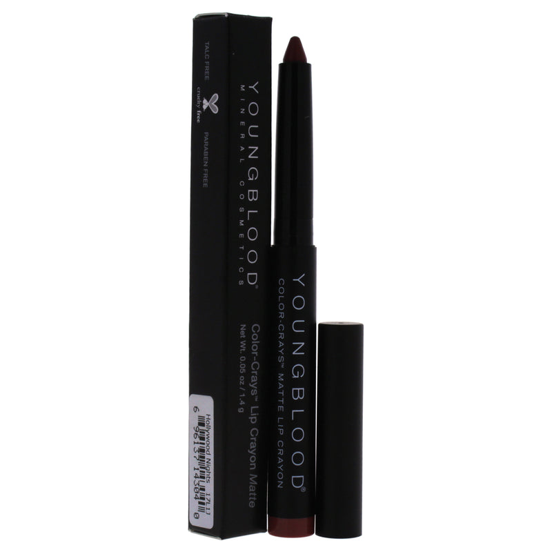 Youngblood Color Crays Lip Crayon Matte