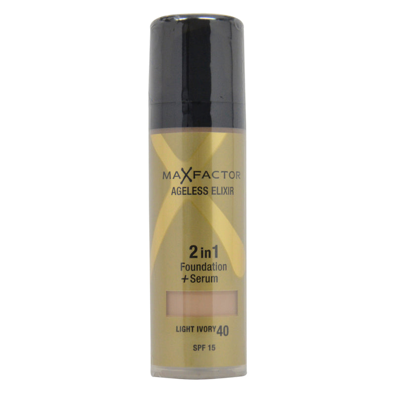 Max Factor Ageless Elixir 2in1 Foundation + Serum SPF 15