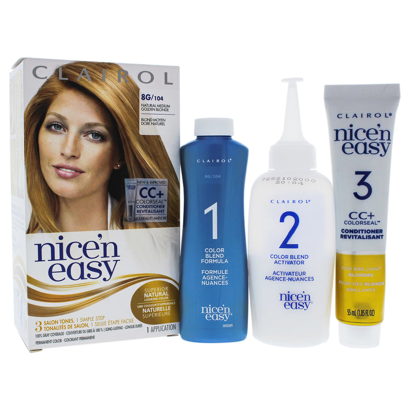 Clairol Nice n Easy Permanent Color   8G