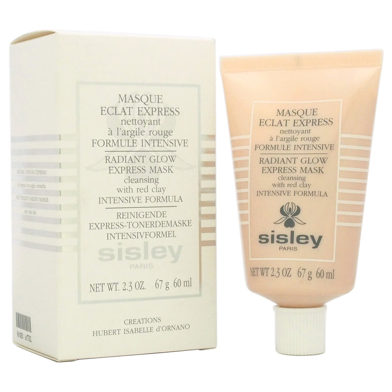 Sisley Radiant Glow Express Mask with Red Clay Intensive Formula