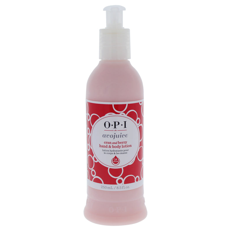 OPI Avojuice Cran and Berry Hand & Body Lotion