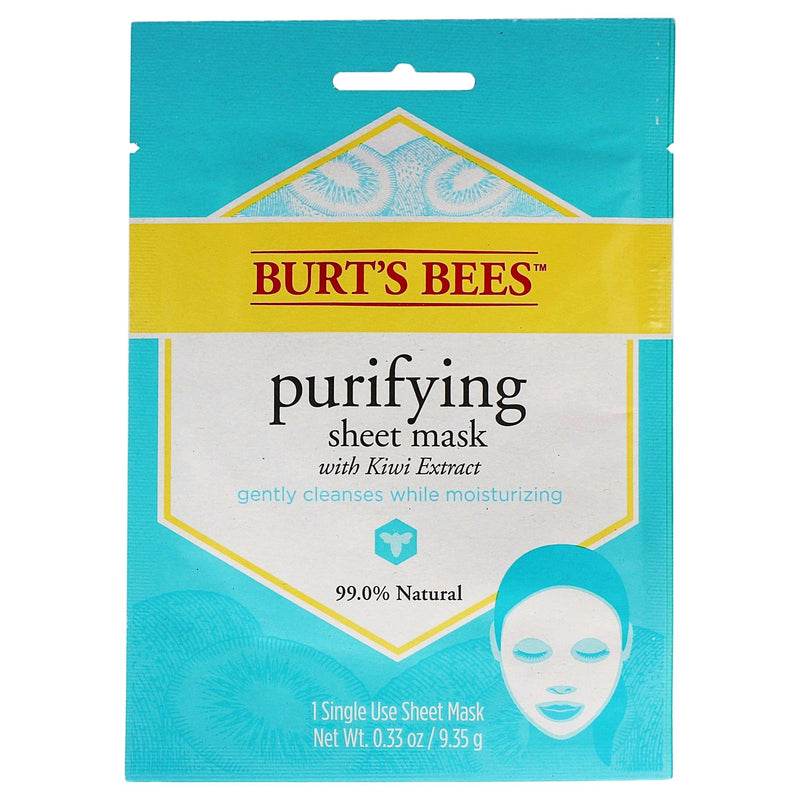 Burts Bees Purifying Sheet Mask with Kiwi Extract