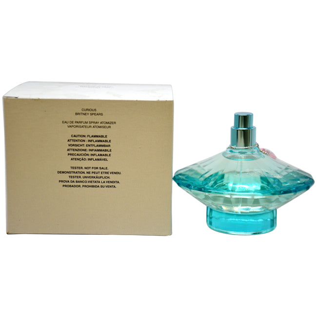 Curious by Britney Spears EDP Spray Tester for Women 3.4oz