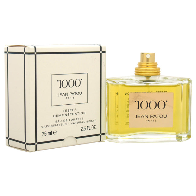 1000 by Jean Patou EDT Spray Tester for Women 2.5oz