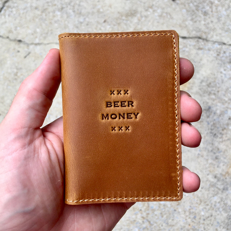 Whiskey Wallet Top Stamps