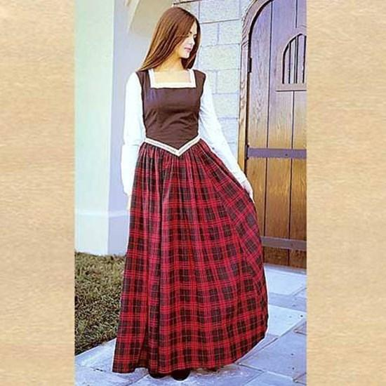 On Sale !Ladies Scottish Highland Dress-Size 2x and Large Only - Blanche's Place