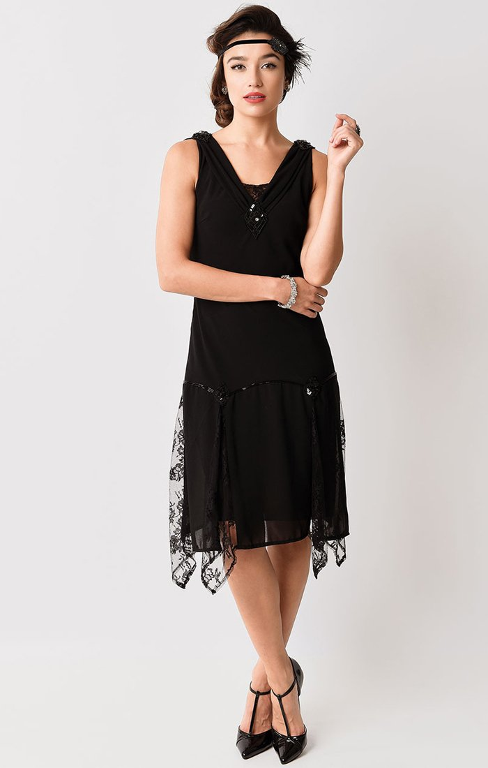 1920's Flapper Dress-Hemingway