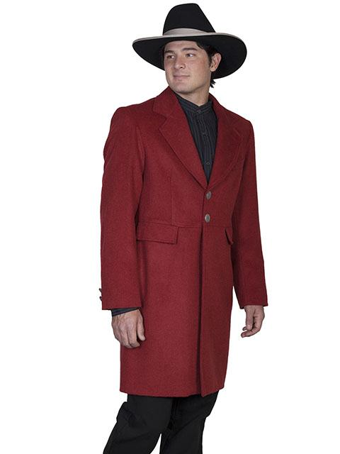 Men's Old West Wool Blend Frock Coat-On Sale! Size 50 - Blanche's Place