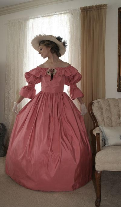 Civil War Styled Gown-ON SALE - Blanche's Place