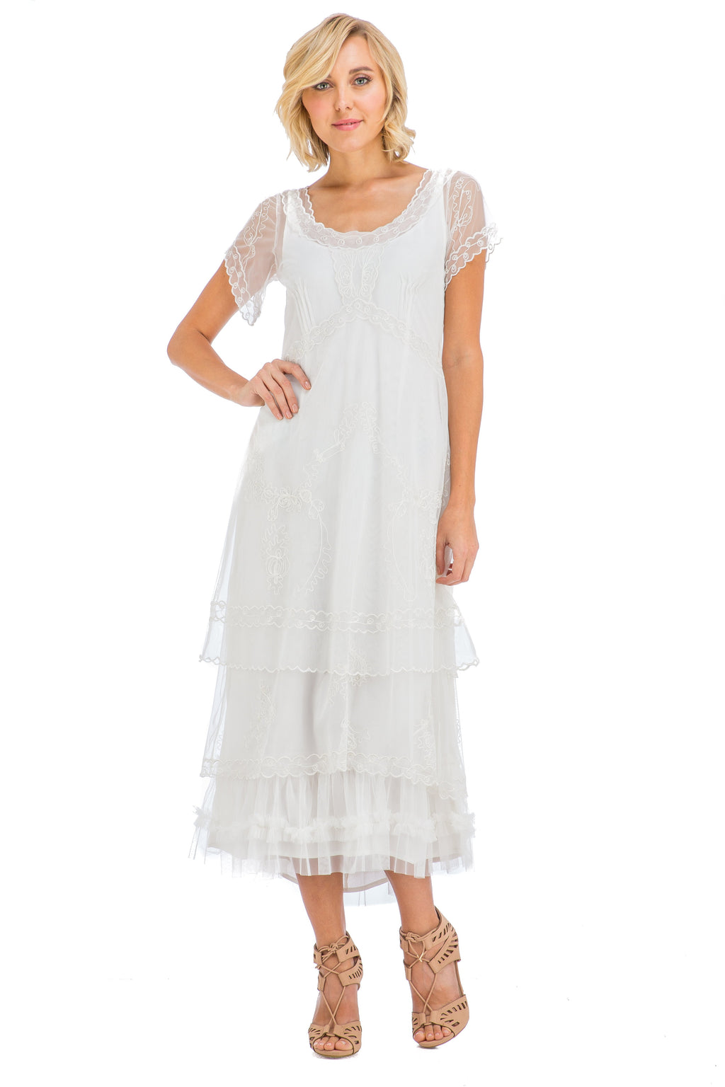 Nataya 1920's Vintage Inspired Dress - shop-blanches-place