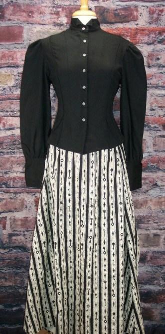 Ladies Victorain Steam Punk Walking Skirt-CL311 - Blanche's Place