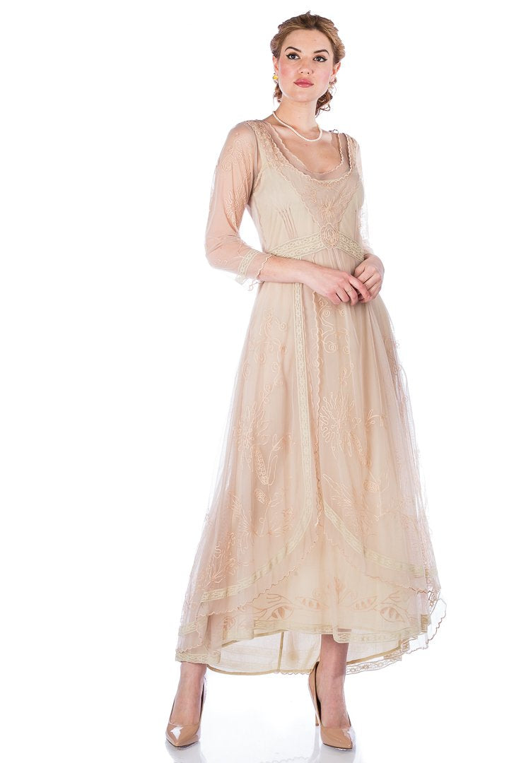 SALE!  Vintage Inspired Nataya Victorian Wedding Dress-40163