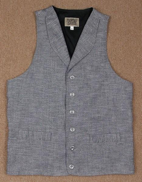 Men's Old West Hickock Vest-CM651 - Blanche's Place
