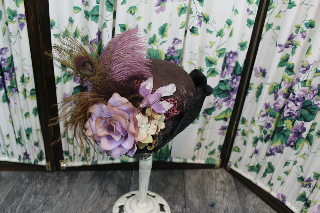 Victorian French Style Hat - Blanche's Place