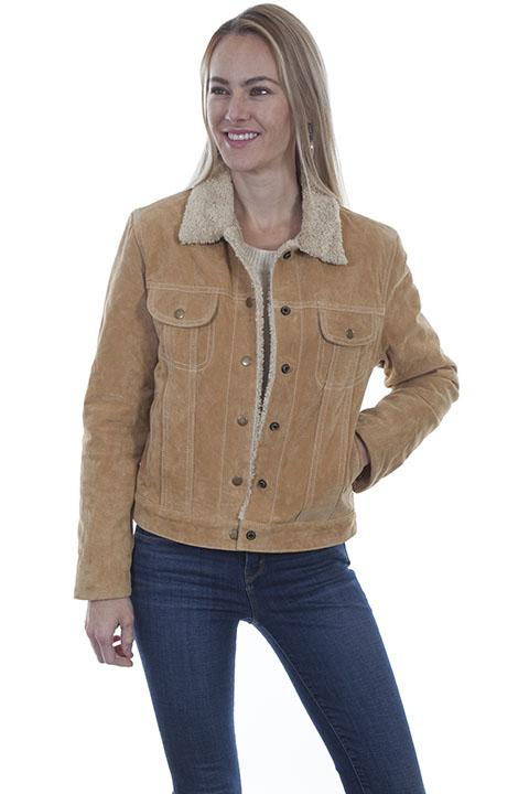 Scully Leather Suede Jean Jacket-