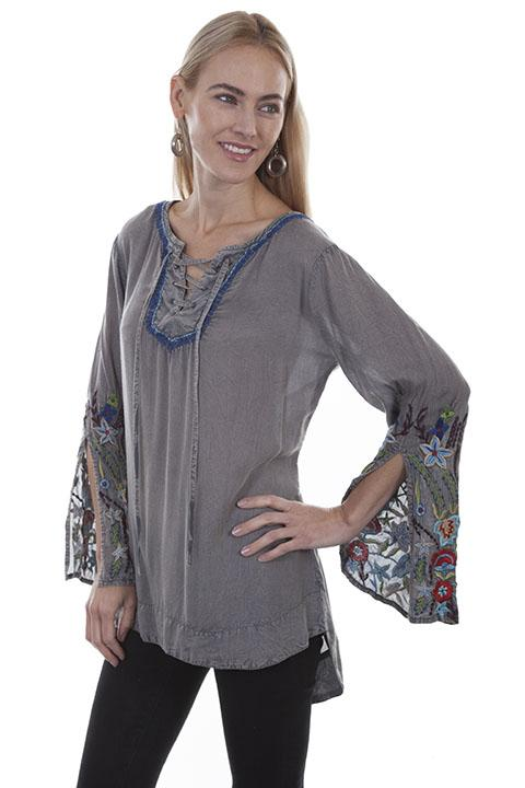 Ladies Honey Creek Long Sleeve Tunic-HC405