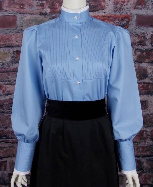 Victorian High Neck Ladies Blouse CL442