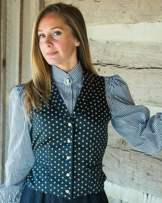 Ladies Victorian Inspired Old West Vest-CL763 - shop-blanches-place