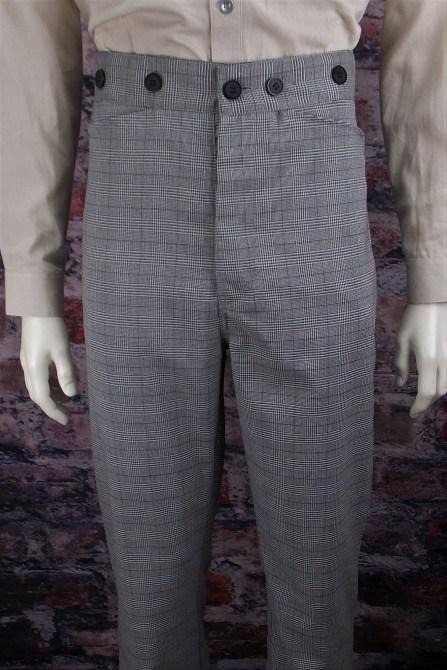 Men's Old West Vintage Inspired Trousers-CM8323 - shop-blanches-place