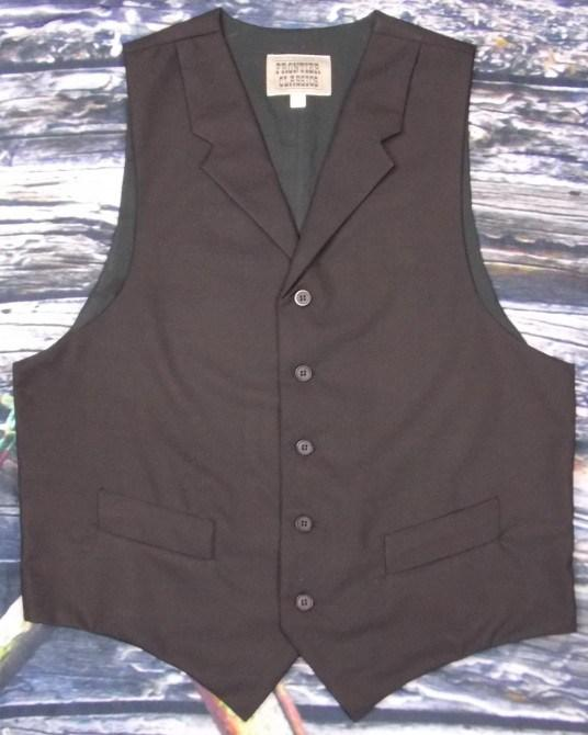 Men's Old West Lawman Vest-CM7511 - Blanche's Place