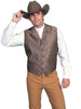 Men's Fancy Western Style Vest