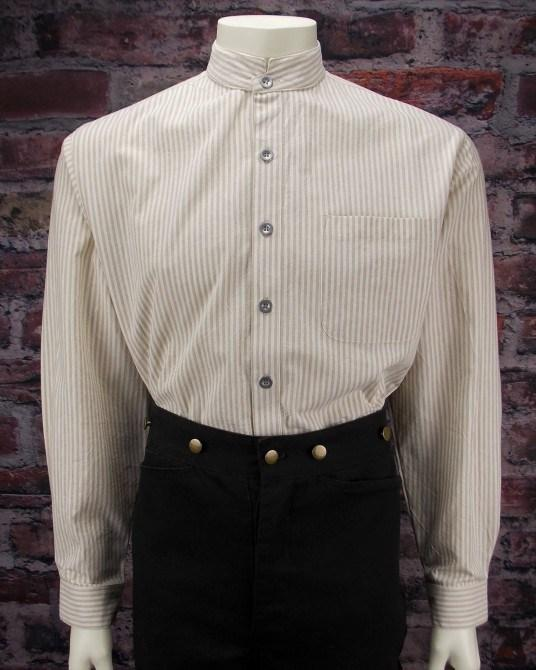 Men's Old West Vintage Style Shirt-CM55 - shop-blanches-place