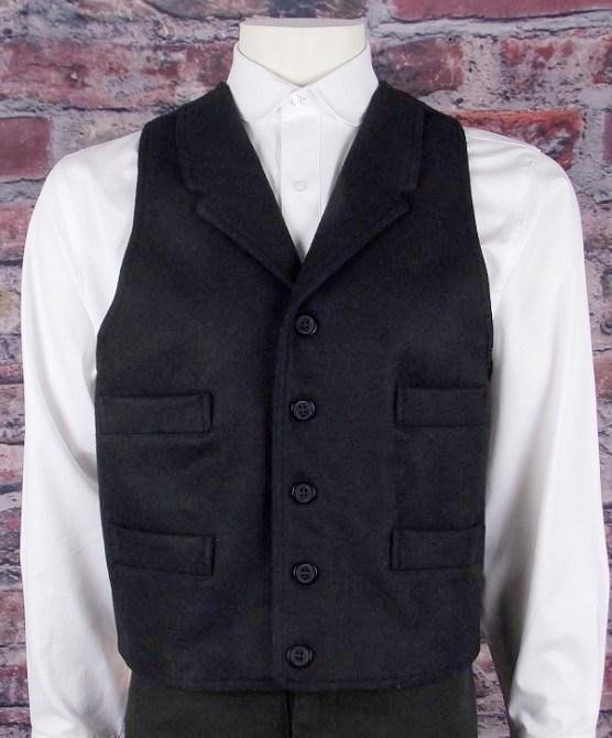 Men's Wool Vest-CM6092 - Blanche's Place