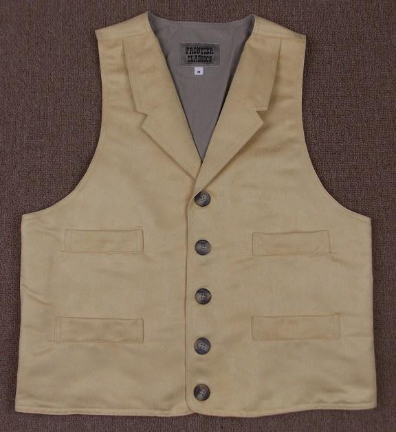 Men's Old West Suede Vest-CM6027 - Blanche's Place