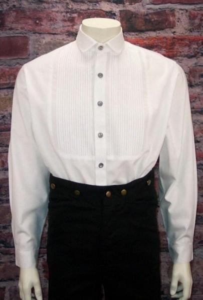 Authentic Style Men's Old West Shirt-CM63 - shop-blanches-place