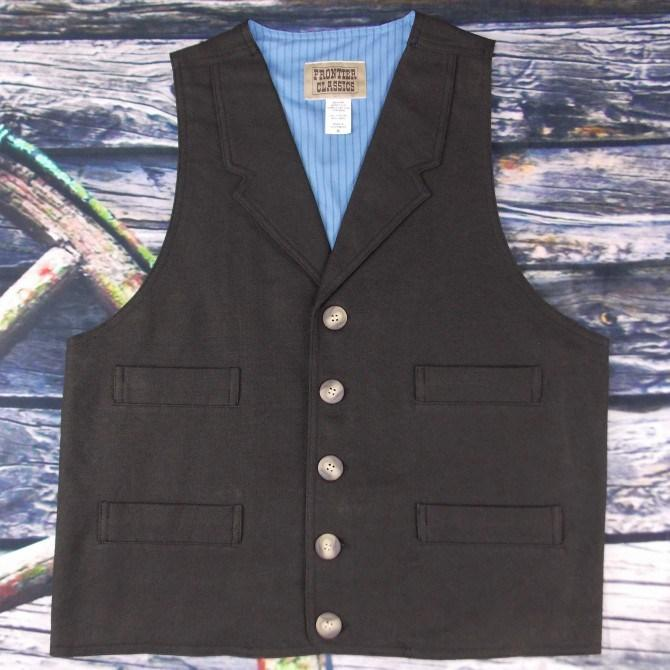 Men's Vintage Victorian and Old West Inspired Vest-CM605