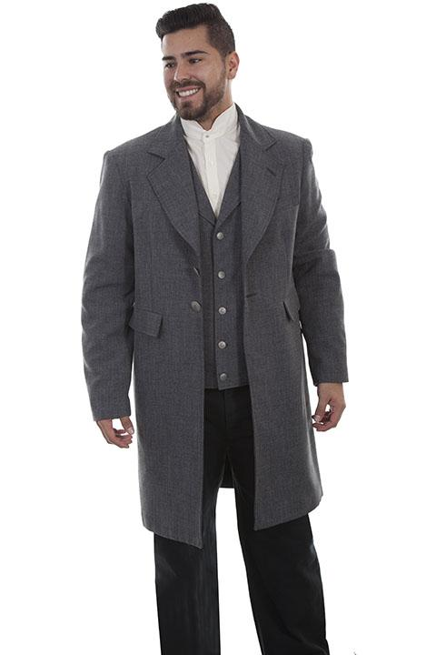 Mens Scully Old West Frock Coat-541449 - Blanche's Place