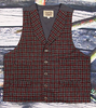 Men's Old West Wool Vest-CM6014