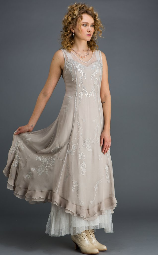 Beautiful Princess Nataya Vintage Inspired Dress-CL069 - Blanche's Place