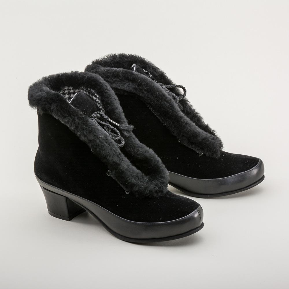 Ladies Vintage Inspired Winter Boots-Aspen - Blanche's Place