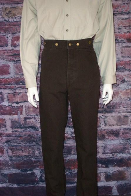 Men's Old West Canvas Pants-On Sale! CM83 - Blanche's Place