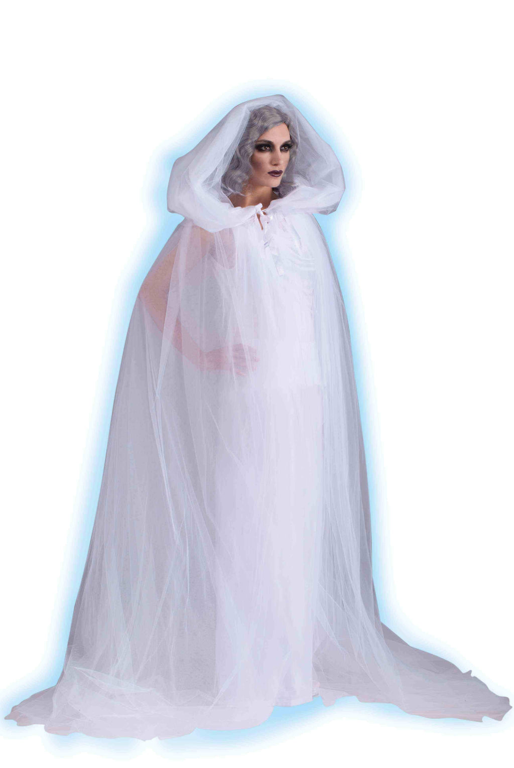 Haunted White Ghost Cape-Free Shipping - Blanche's Place