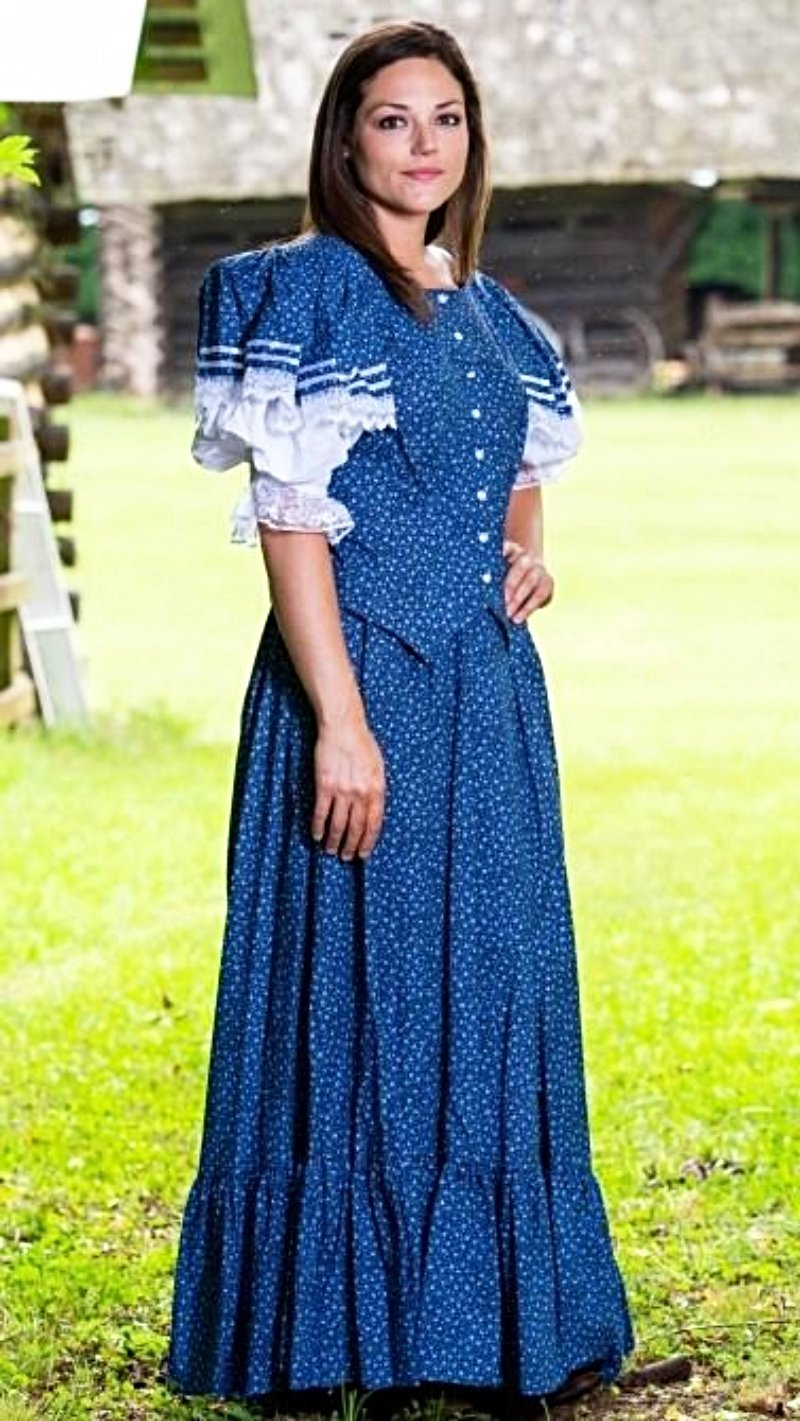 Ladies Victorian Dress-CL2970 - Blanche's Place