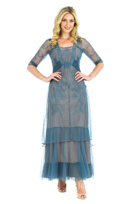 Nataya  Victorian Vintage Inspired Dress-CL201