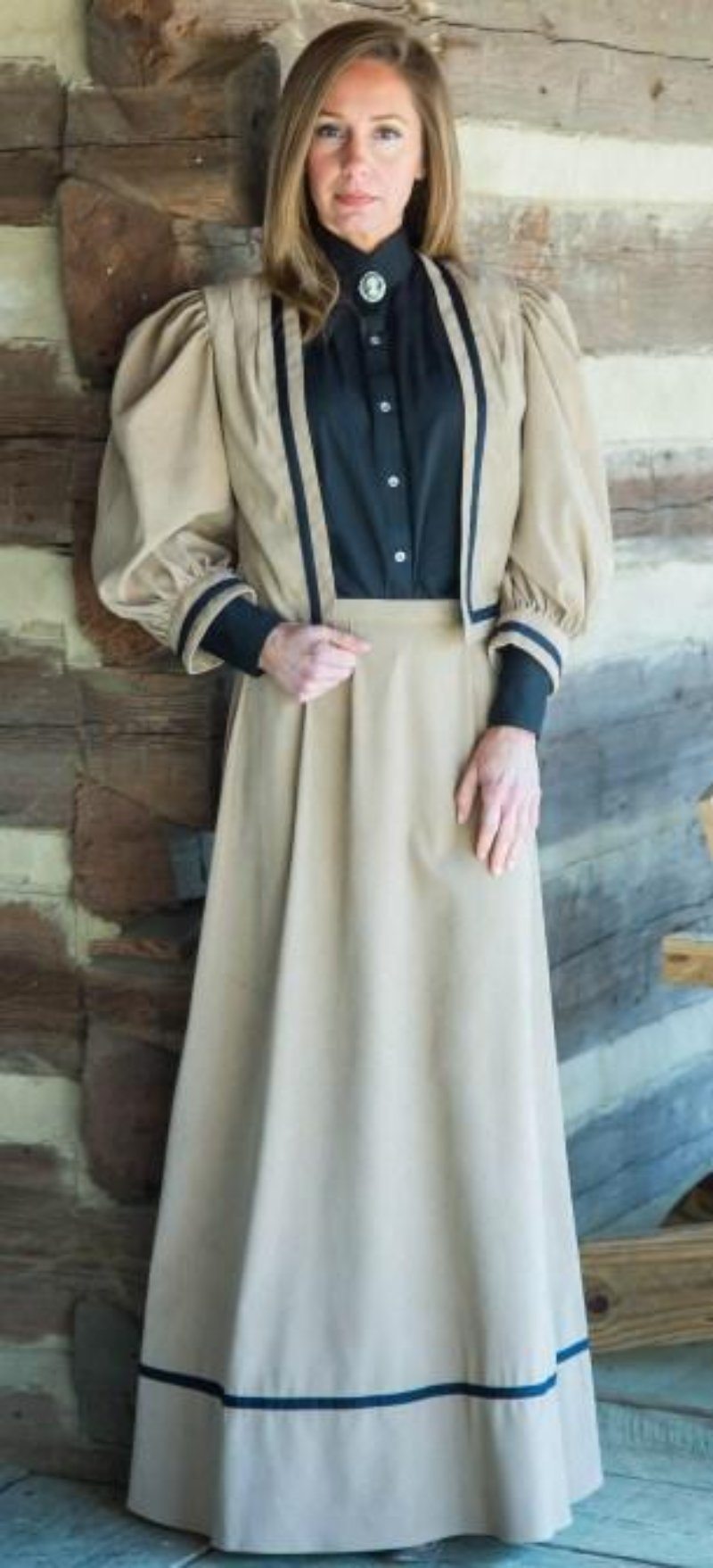 Ladies Victorian Walking Suit-CL2935 - Blanche's Place
