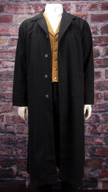 Sale! Jesse James Old West Canvas Duster-CM90