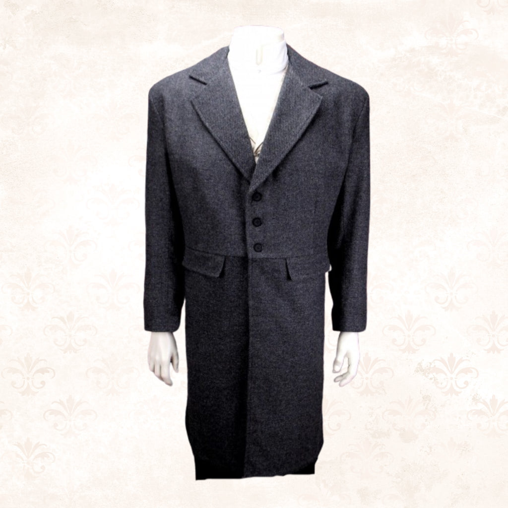 19th Century Mens Vintage Inspired Frock Coat-CM93