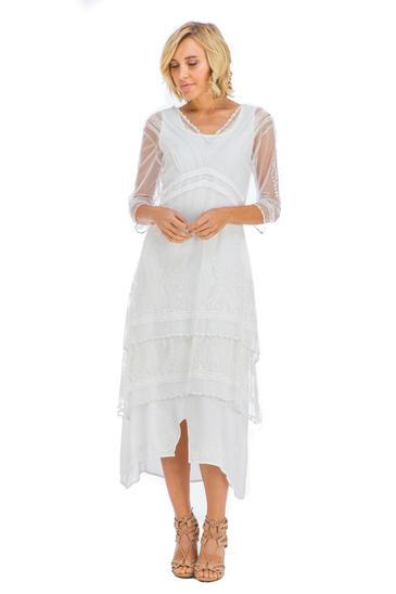 Nataya Titanic Treasures Ivory Dress-5901 - shop-blanches-place