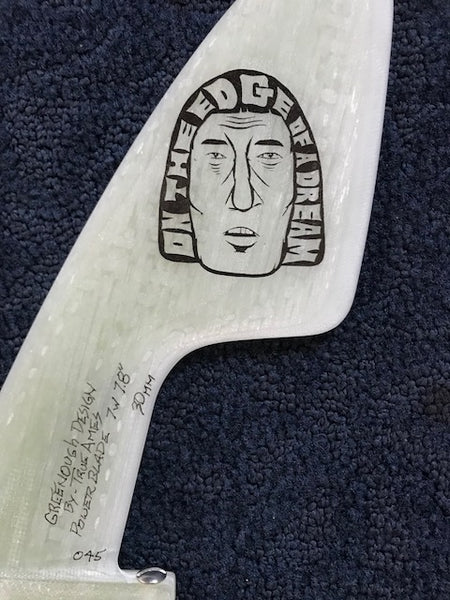 TRUE AMES GREENOUGH BLADE FIN ART BY BARRY MCGEE