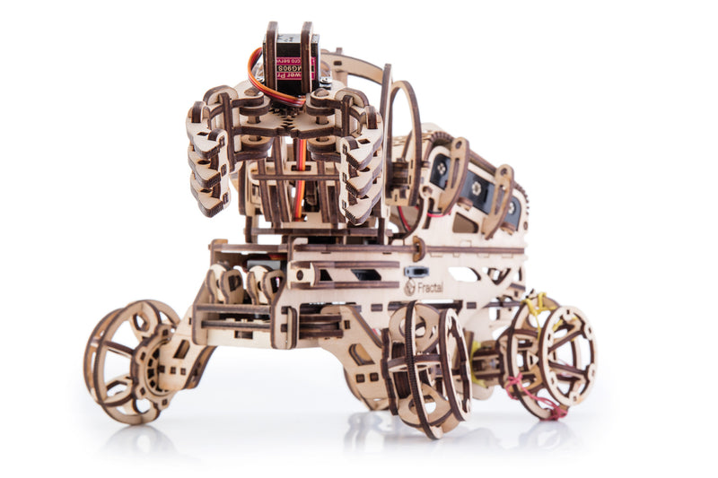 Time 4 Machine - Robo Arm 3d wooden-electronic puzzle - mechanical models to make