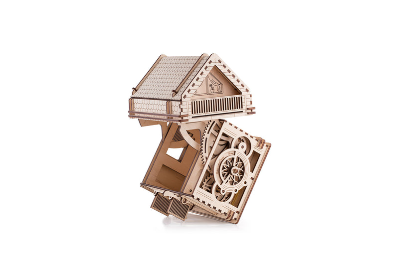 Time 4 Machine - Sweet Home Wooden toy - 3d wooden puzzle building