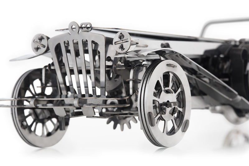 Time 4 Machine - Glorious Cabrio 3d metal puzzle - Metal mechanical model