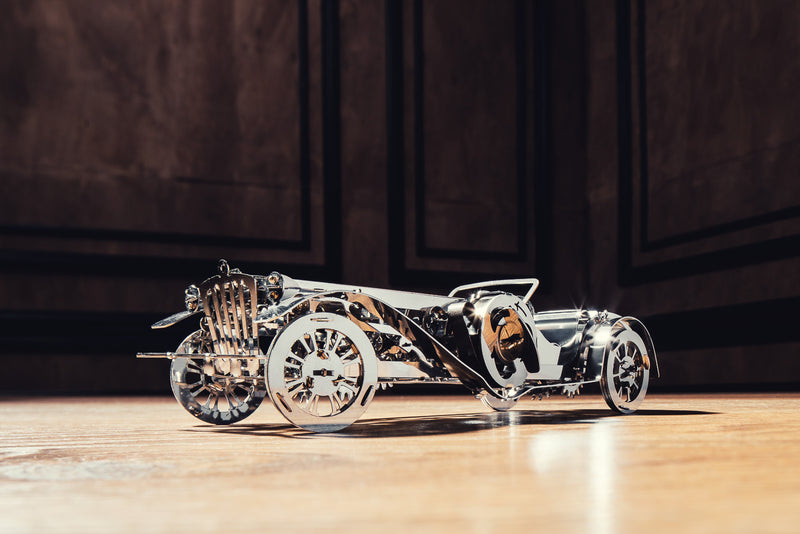 Glorious Cabrio, metal puzzle, Time 4 Machine, 3d metal puzzle